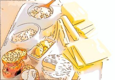 「ナチュラルチーズ」と「プロセスチーズ」の違いとは?